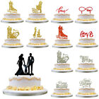Acrylic Mr Mrs Bride & Groom Wedding Love Cake Topper Party Favours Decoration