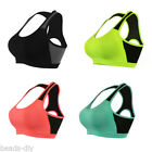Sports Women Stretch Padded Bra Fitness Workout Gym Yoga Running Tank Tops