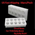 10x  Replacement Pyrex Glass Tube Tank For SMOK TFV8/Baby Beast /Big Baby Beast