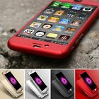 Hybrid 360° New Shockproof Case Tempered Glass Cover For Apple iPhone 7 5s 6s