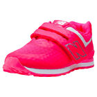 New Balance Kv574 Kids Pink Mesh & Synthetic Casual Trainers Strap New Style