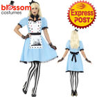 CA363 Deluxe Tea Party Alice in Wonderland Halloween Fairytale Dress Up Costume