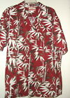 "NEW by RJC MADE IN HAWAII HAWAIIAN SHIRT sz 2X 54"" CHEST bamboo jungle print"