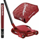 New TaylorMade Custom Made Spider Tour Red Putter choose Length-Lie-Grip