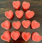 15 Pack Strong Scented Wax Melts Heart Shaped Tart Melts~ FRUIT SCENTS