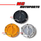 CNC Keyless Fuel Cap For Triumph Street Triple 675 / R 07-10 07 08 09 10