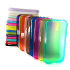 LOT color Clear Glossy TPU Soft case Gel cover For Samsung Galaxy S4 IV i9500