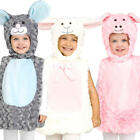 Little Animal Toddler 2-4 Years Fancy Dress Book Day Nativity Girls Boys Costume