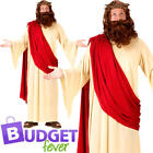 Jesus Mens Fancy Dress Nativity Easter Religious Saints & Sinners Adults Costume