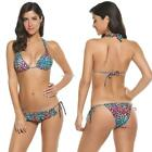 New Fashion Stylish Women Sexy Bikini Set Leopard Swimwear Swimsuit B20E