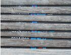 MAXIMA BLU RZ CARBON EXPRESS ARROWS WITH HELICAL BLAZER VANES 1/2 DZ CUT FREE