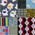 15M -PIECES PRINTED ANTIPIL FLEECE PET BED CLOTHING BLANKET WARM MATERIAL FABRIC