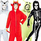 Boys Halloween Fancy Dress Horror Character Kids Childrens Costume Jumpsuit New