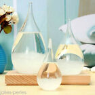 1PC Weather Forecast Crystal Drop Water Shaped Storm Glass New Year Home Decor