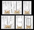 ORANGE TIGER CAT   LIGHT SWITCH COVER PLATE PEEK A BOO KITTY
