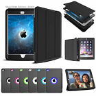 Shockproof + FLAP Heavy Duty Hard Case Cover Apple iPad 2/3/4 Air 2 PRO 9.7 12.9