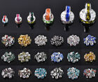 4mm 5mm 6mm 8mm 10mm 12mm Czech Crystal Rhinestone Glass Loose Spacer Beads