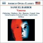 SAMUEL BARBER: VANESSA USED - VERY GOOD CD
