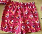 KC Chiefs Boys Boxer NFL team apparel Med 10/12, brushed boxer new red
