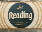 1950s Old Reading Brewing Co Beer Case Little Bird Logo Reading Pa Advertising