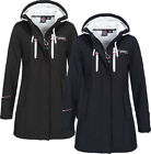 Geographical Norway Damen Herbst Softshell Jacke Mantel Übergangsjacke stepp MIX