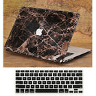 """2in1 Griotte Marble Black Leather Coated Case for MacBook Air Pro 13"""" 15"""" 2016"""