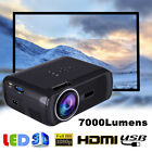 1000 lúmenes 1080P HD LED Projector Mini 3D Home Theater Cinema HDMI USB VGA AV