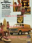 """FORD ECONOLINE VAN 1976 = Beach SURFBOARD = POSTER CHOOSE FROM 7 SIZES 19"""" - 36"""""""