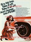 """PIRELLI TIRES 1974 Eyy, Big Boy SEXY Dress =POSTER CHOOSE FROM 7 SIZES 19"""" - 36"""""""