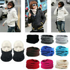 Warm Fleece Scarf Face Mask Neck Warmer Hat Cap For Outdoor Tactical Bike Sports