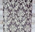 Tan Victorian Damask on Red Wallpaper Modern Designer Wallcoverings DIY
