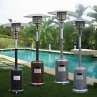 Outdoor Patio Garden Deck Standing Steel Propane Gas Flame Party Event Heater