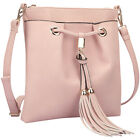 Dasein Crossbody bag with fringe details 5 Colors Cross-Body Bag NEW