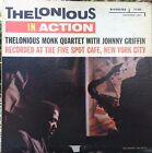 Thelonious Monk - Thelonious in Action - Riverside MONO DG LP Johnny Griffin