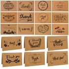 Blank Thank You Paper Cards Note Envelopes Greeting Wedding Party Reception