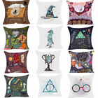 Cartoon Harry Potter Polyester Cushion Cover Sofa Throw Pillow Case Home Decor