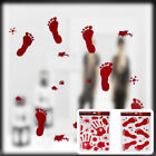 2017 Newest Halloween Scary Bloody Window Clings Door Cover Party Decorations CA