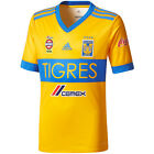 adidas Tigres 2017 - 2018 Home Soccer Jersey New Yellow/Blue Kids - Youth image