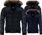 Geographical Norway Herren WinterJacke Winter Parka warm gefüttert Jacke Bomber
