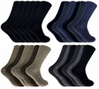 6 Mens CHUNKY Wool Blend BIG FOOT Walking Boot Socks UK 11-14