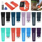 Soft Silicone Replacement Watch Band Strap &Tool Kit for Fitbit Surge Wristband