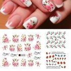 3D Flower Nail Stickers Polish Foils Nail Art Manicure Tips Sticker B20E