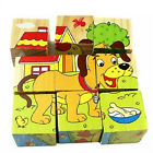 3D Puzzle Kids Educational Wooden Jigsaw Toy Baby Toys Learning Blocks Figures