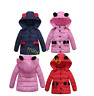 Cute Baby Kids Girls Hooded Winter Warm Coat Thick Jackets Outerwear Child Cloth