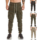 Mens Trousers Outdoor Hiking Climbing Fishing Sports Tactical Pants Comfort NEW