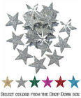 Iron on Stars Glitter 25mm Patch Halloween Costume Christmas Decoration applique