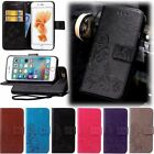 Leather Wallet Cards holder Stand Case Cover For iPhone 5S 6 6S 7 Plus SE O0093