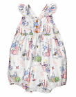 Gymboree Newborn 3 Months Peter Rabbit Bunny Romper Sunsuit Baby Girl Clothes