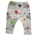 Silly Spiders Halloween Baby Leggings - 7 Preemie Newborn, Toddler Pants Sizes