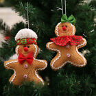 Christmas Gingerbread man Ornaments Festival Xmas Tree Hanging Decoration